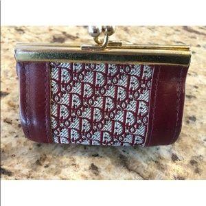 Dior kisslock coin purse great shape! Vintage:)